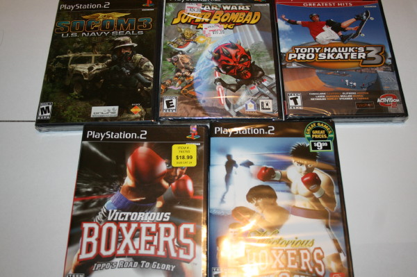 Shrink wrap collection PS2 #4