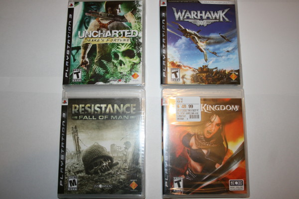 Shrink wrap collection PS3 #2