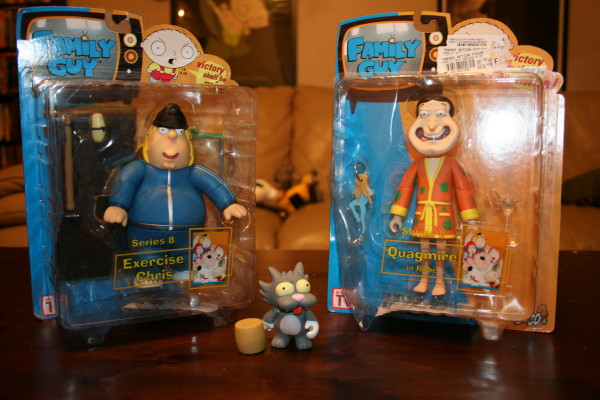 Christmas Haul Family Guy & Scratchy 08
