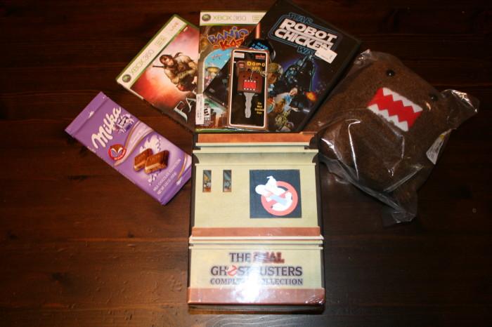 Christmas Haul Games, Movies, Domo, & Chocolate 08