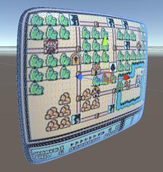 CRT Editor Screen