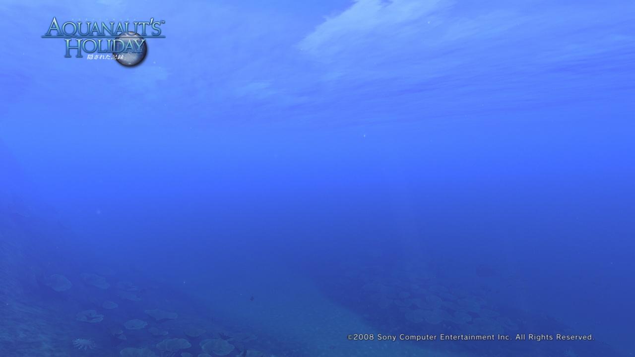 AquaPhoto 静かの海にて撮影