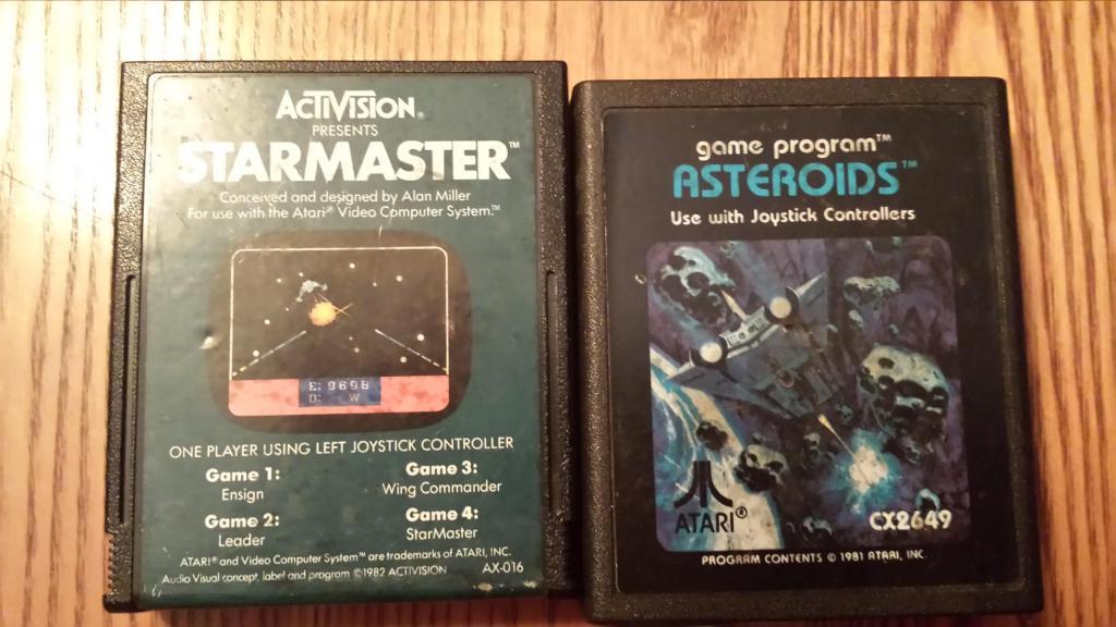Starmaster, Asteroids