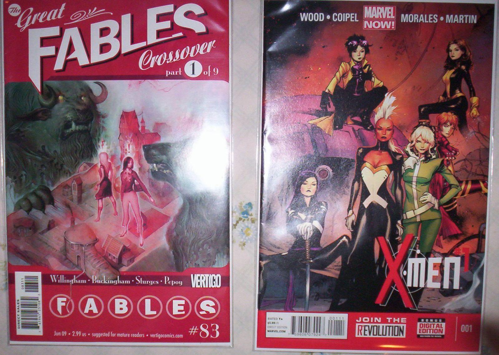 BOTH comics for $1 at Half Price Books