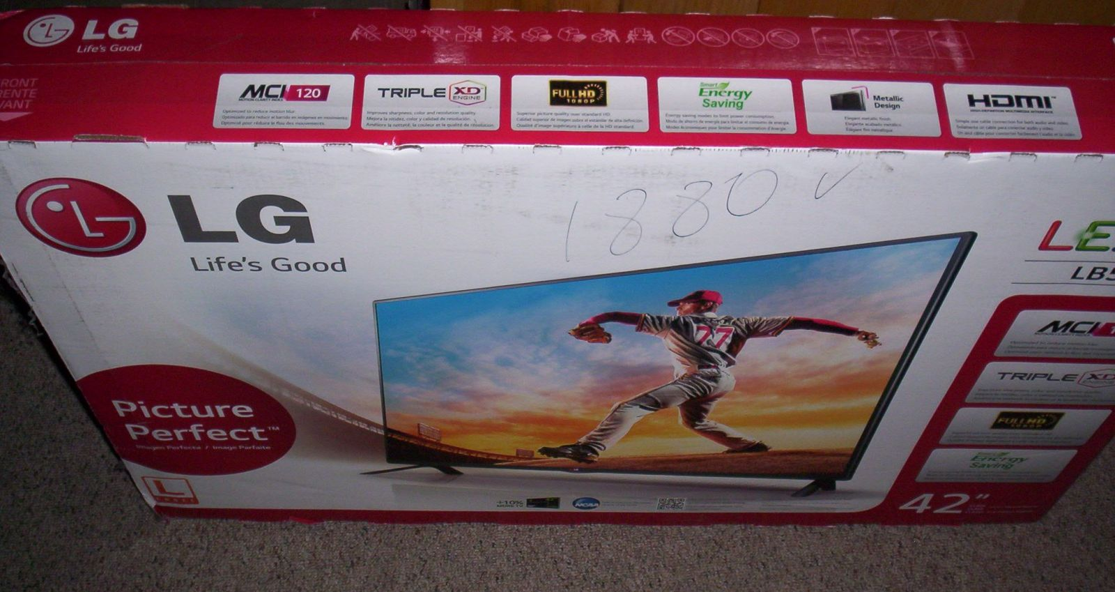 "FREE LG 42"" LED TV from Marlboro giveaway"