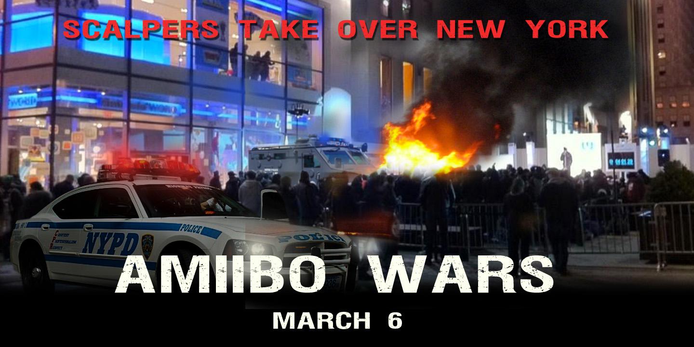 amiibo wars