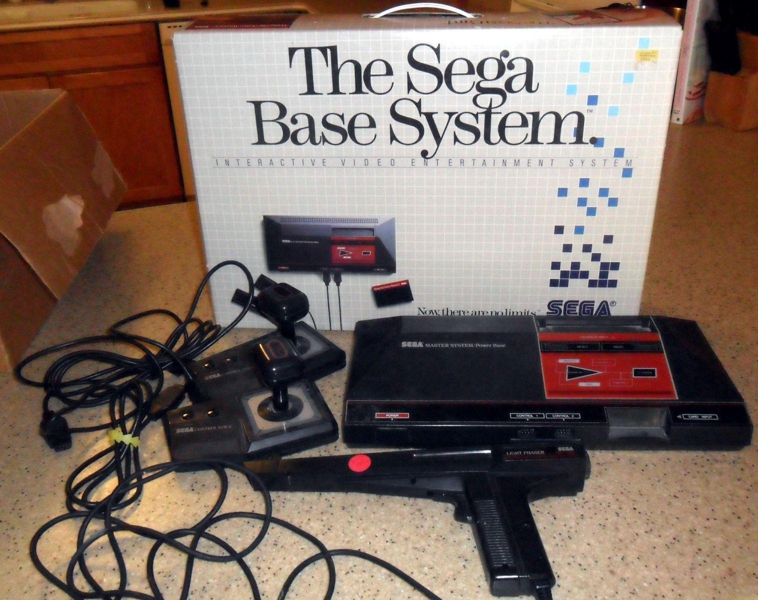 Sega System w/ Box