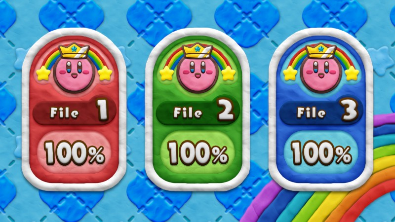 300 Percent in Kirby Rainbow Curse