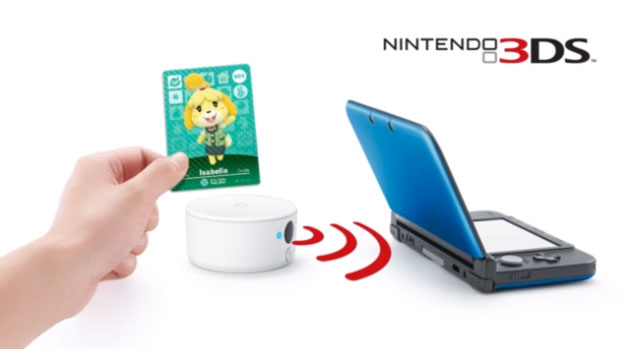 3DS amiibo reader