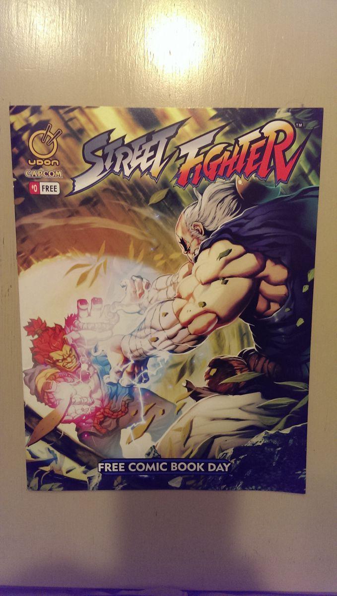 street fighter comic