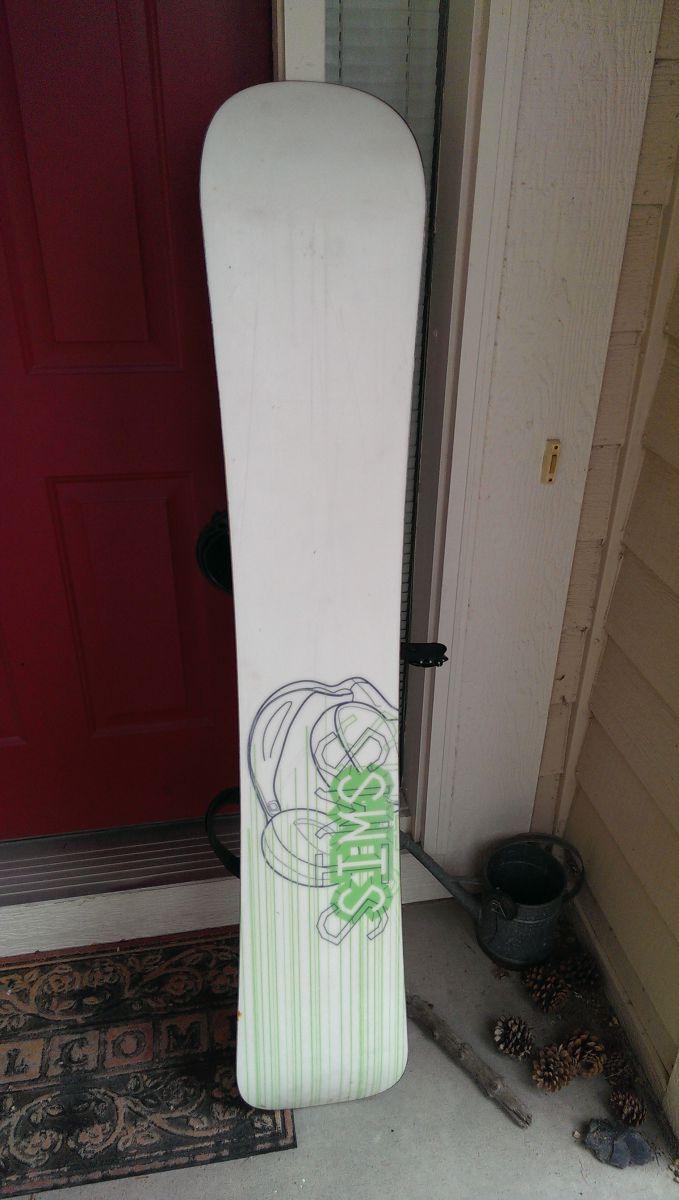 Snowboard 5/16 Bottom