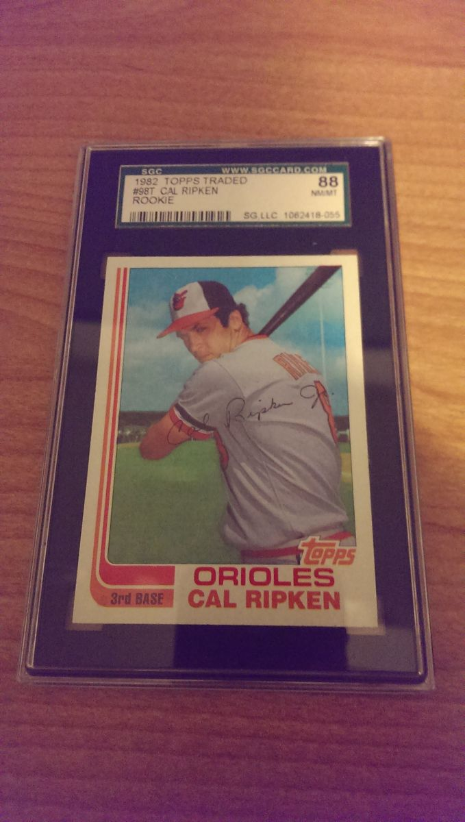 1982 Topps Traded Ripken rookie