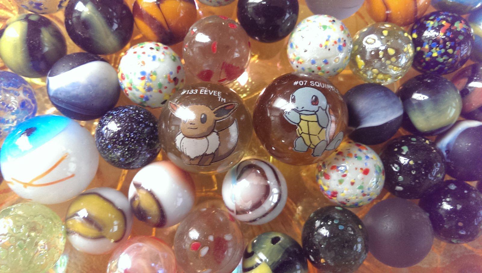 Pokemon Marbles