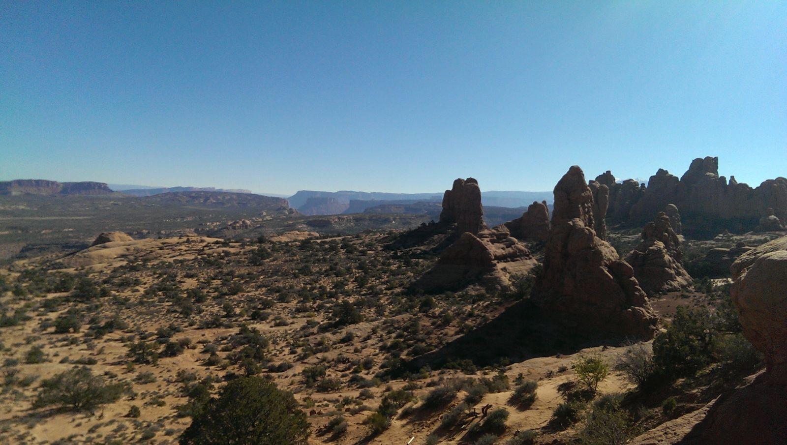Arches desert