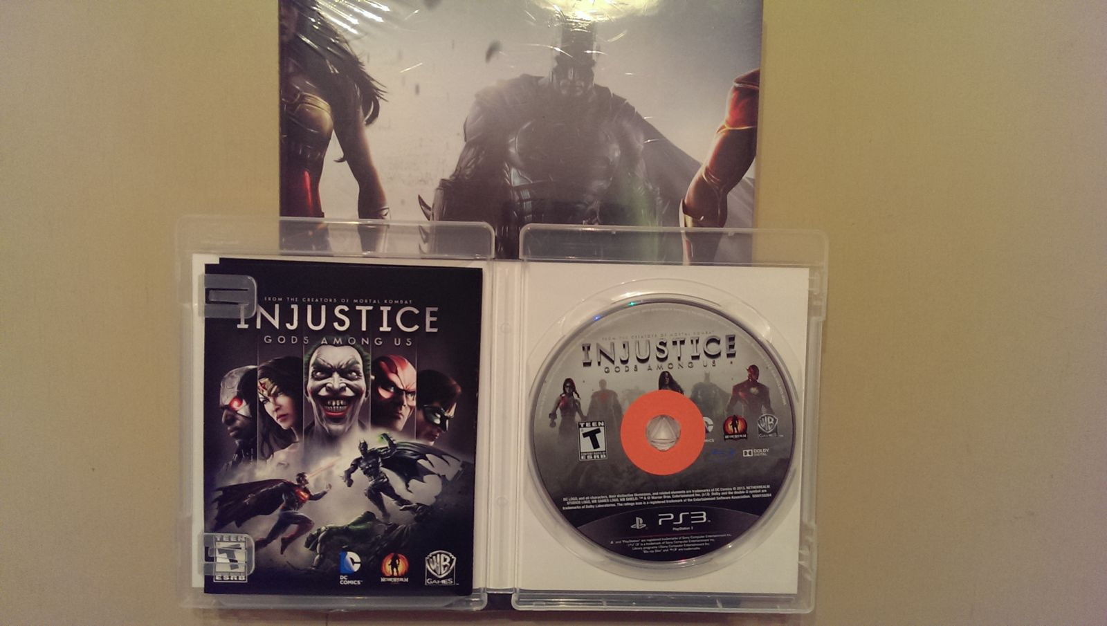 Injustice Gamefly Sticker