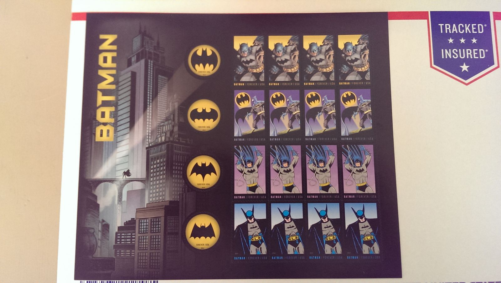 Batman Stamps 2014