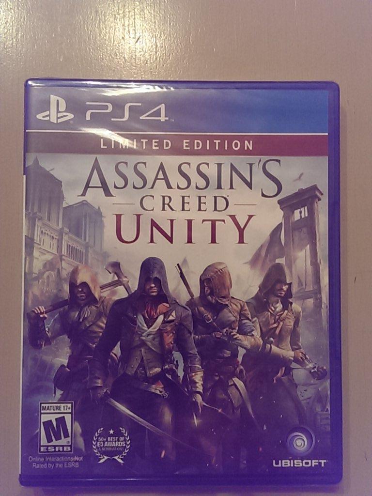 AC Unity PS4