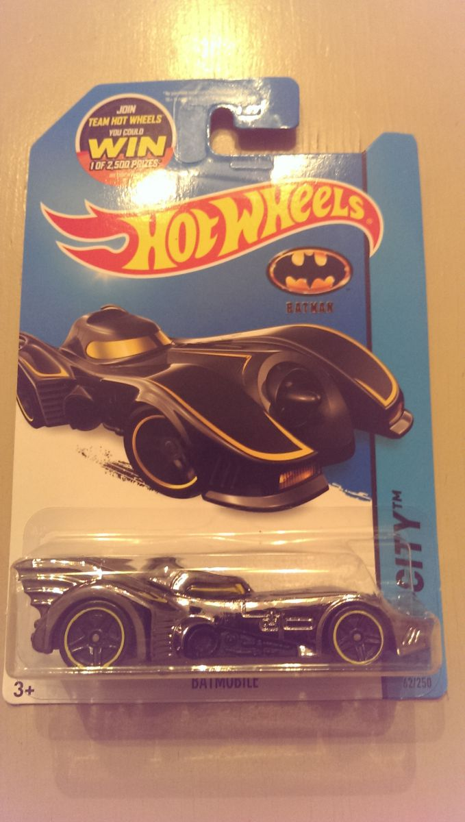 Hot Wheels Batmobile