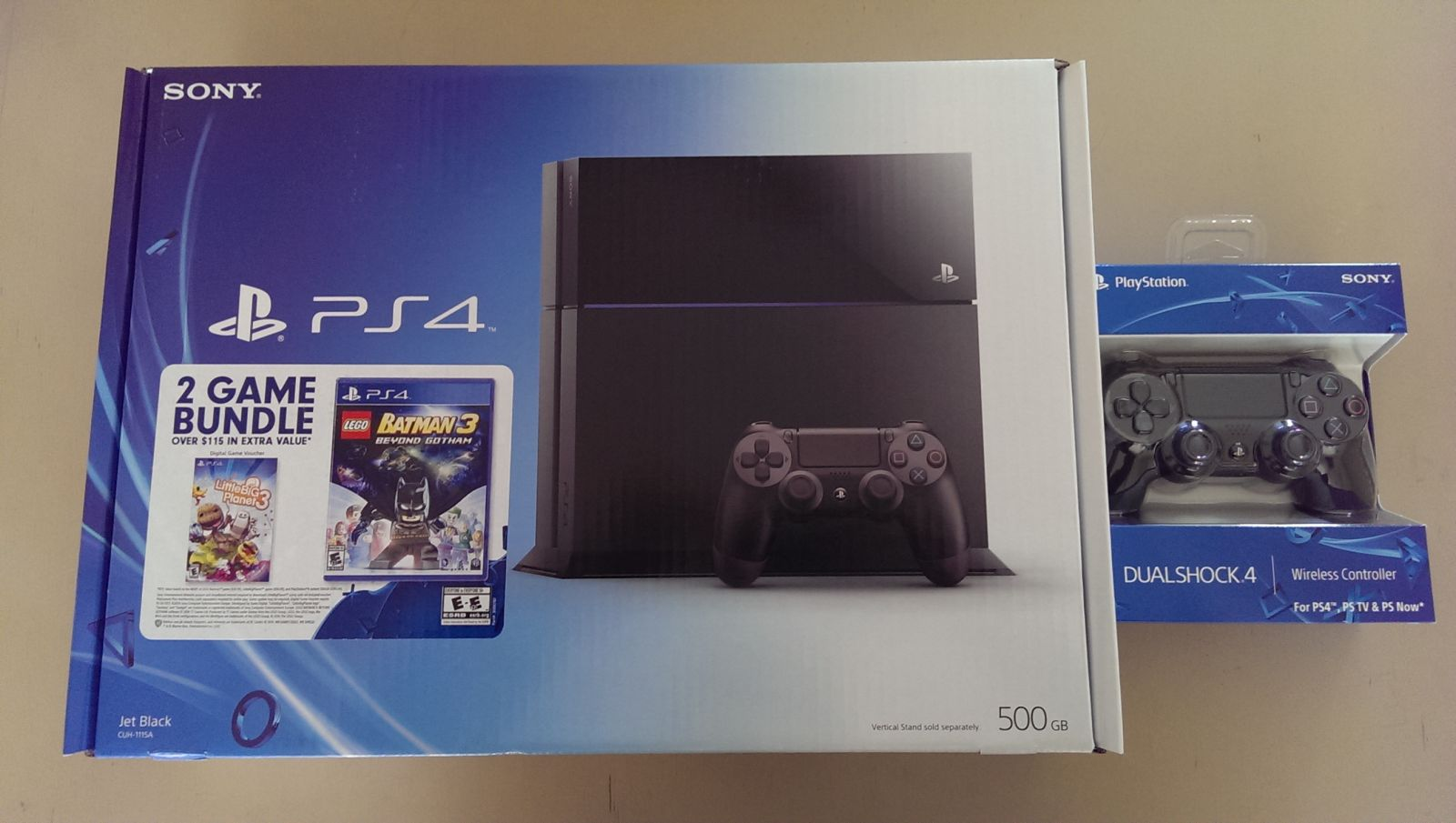 March 2015 PS4 Bundle
