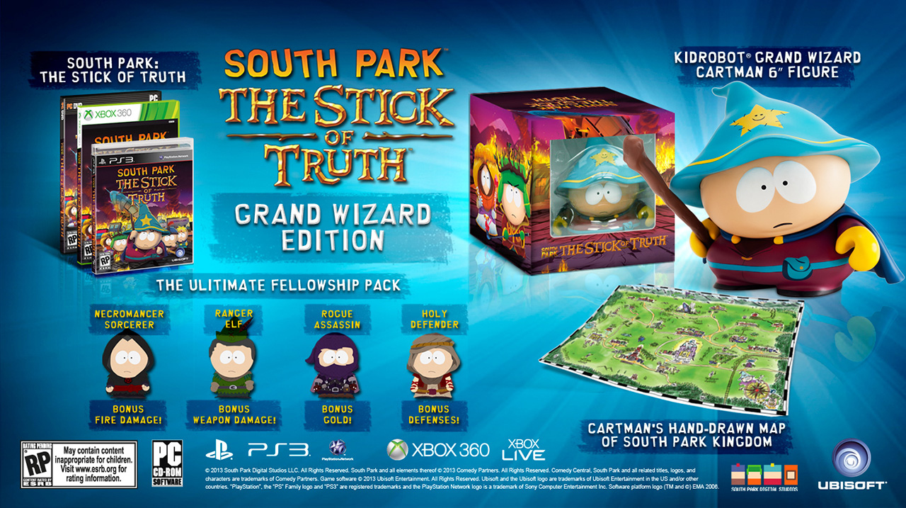 south park The stick Of truth grand wizard edition 1280