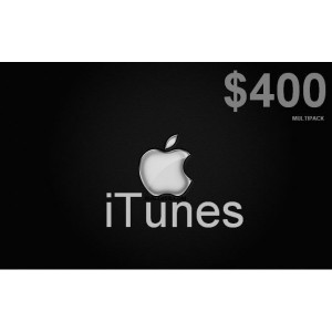 400 itunes gift card apple Usa iphone ipad Mac code 400 voucher emailed