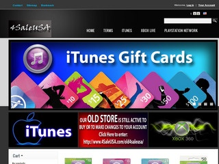 4saleusa Is The best internet store To Buy itunes gift cards 8