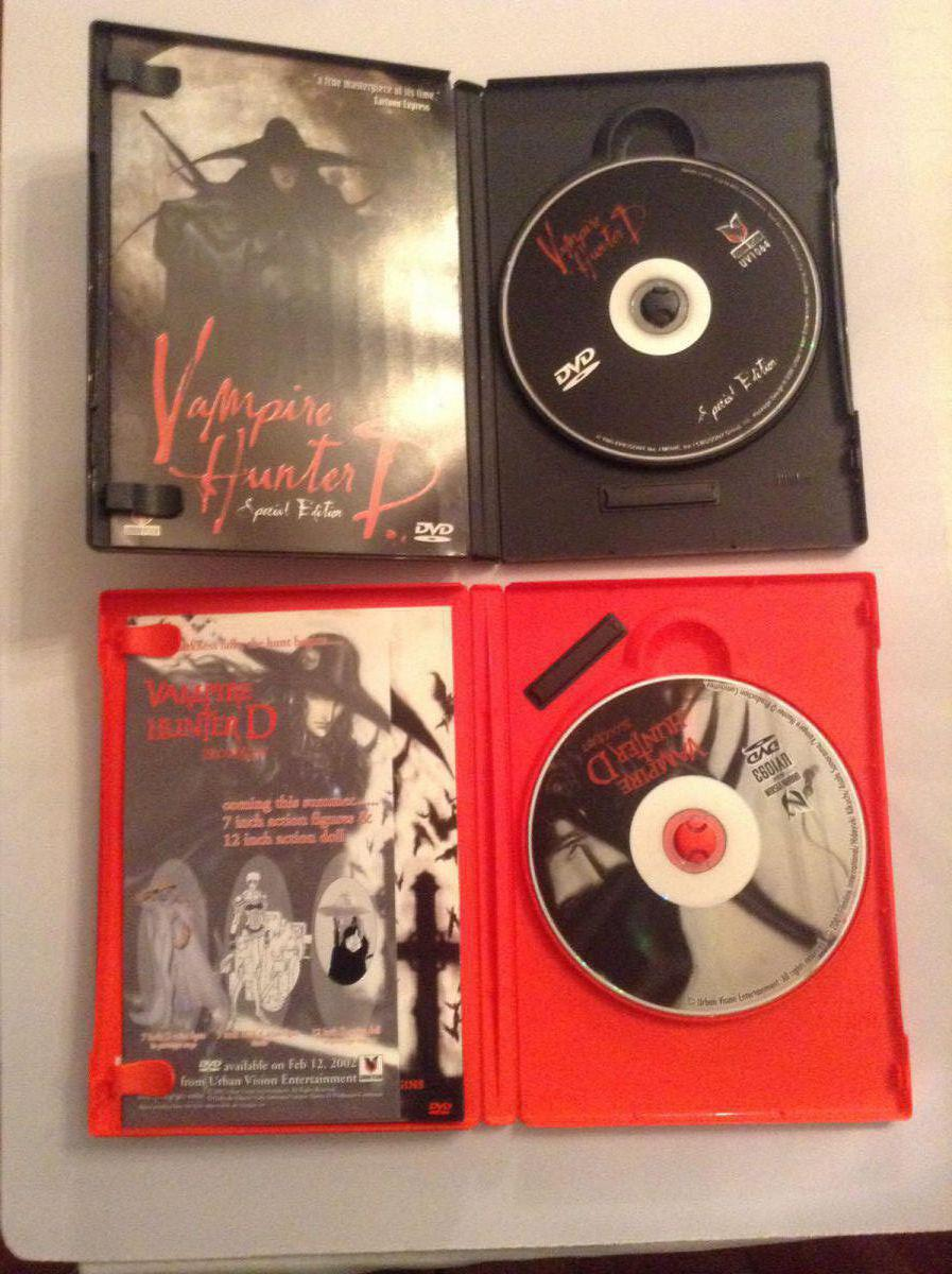 Vampire Hunter D and Bloodlust Inside case