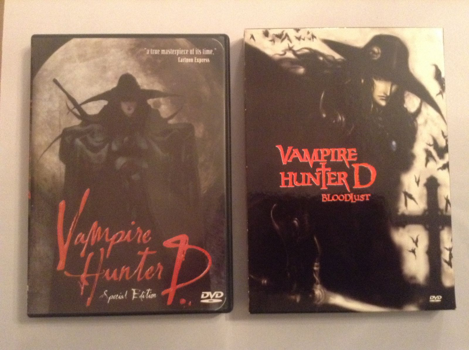 Vampire Hunter D and Bloodlust