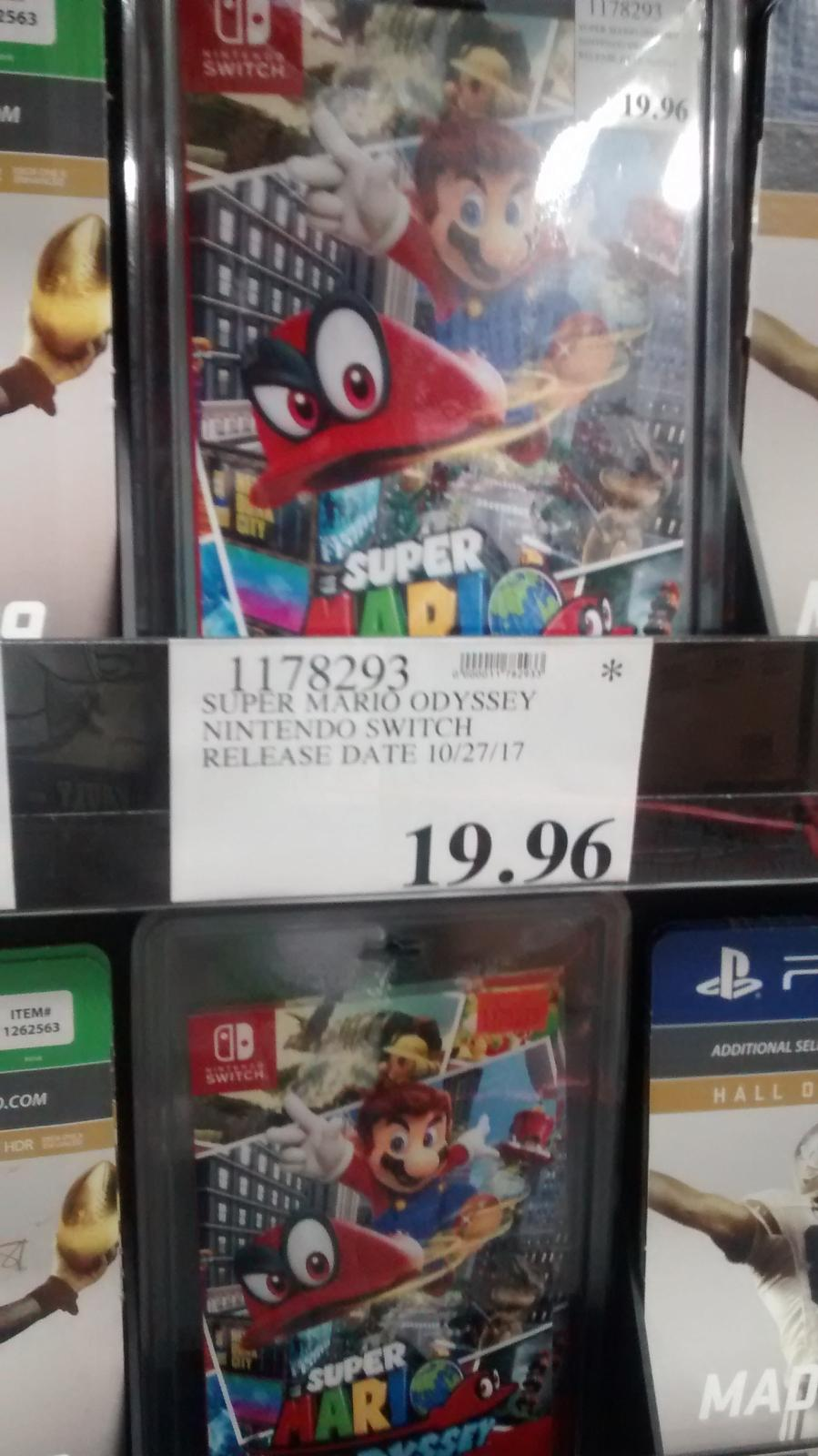 Super Mario Odyssey 19 96 Costco Ymmv Video Game Deals Cheap Ass Gamer These are all found within the nintendo. super mario odyssey 19 96 costco ymmv
