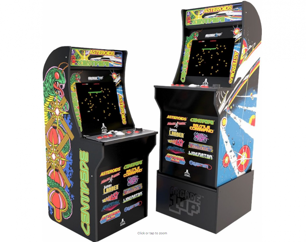 Arcade1Up - Deluxe Edition 12-in-1 Arcade Cabinet $399 99 at