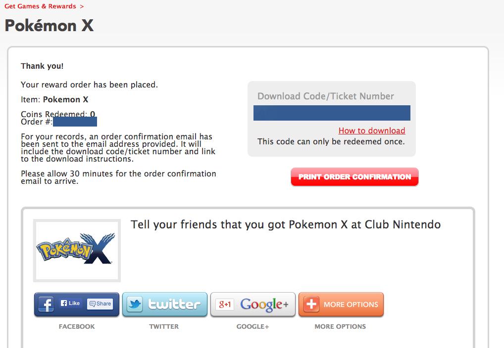 [H] Pokemon X Digital Download Code [W] $25 Paypal ...