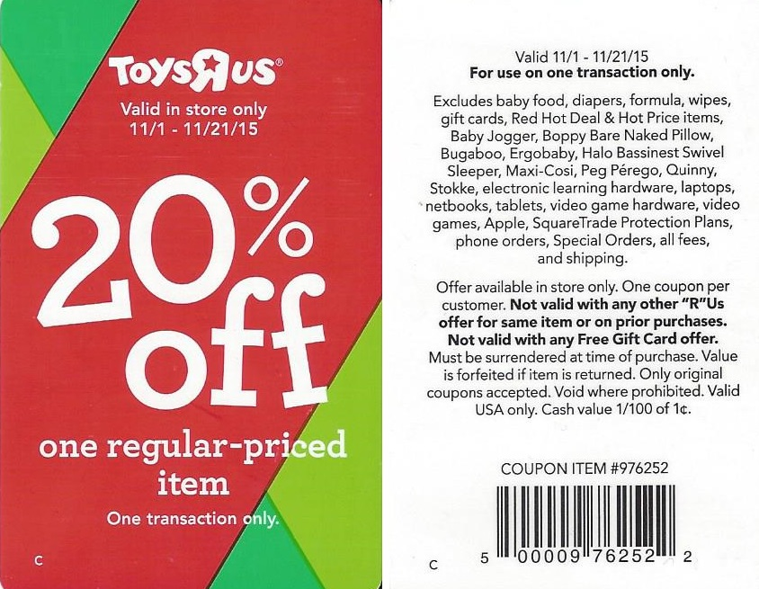 photo about Toys R Us Printable Coupon named Toys r us discount coupons video clip game titles : Price cut coupon lowes printable